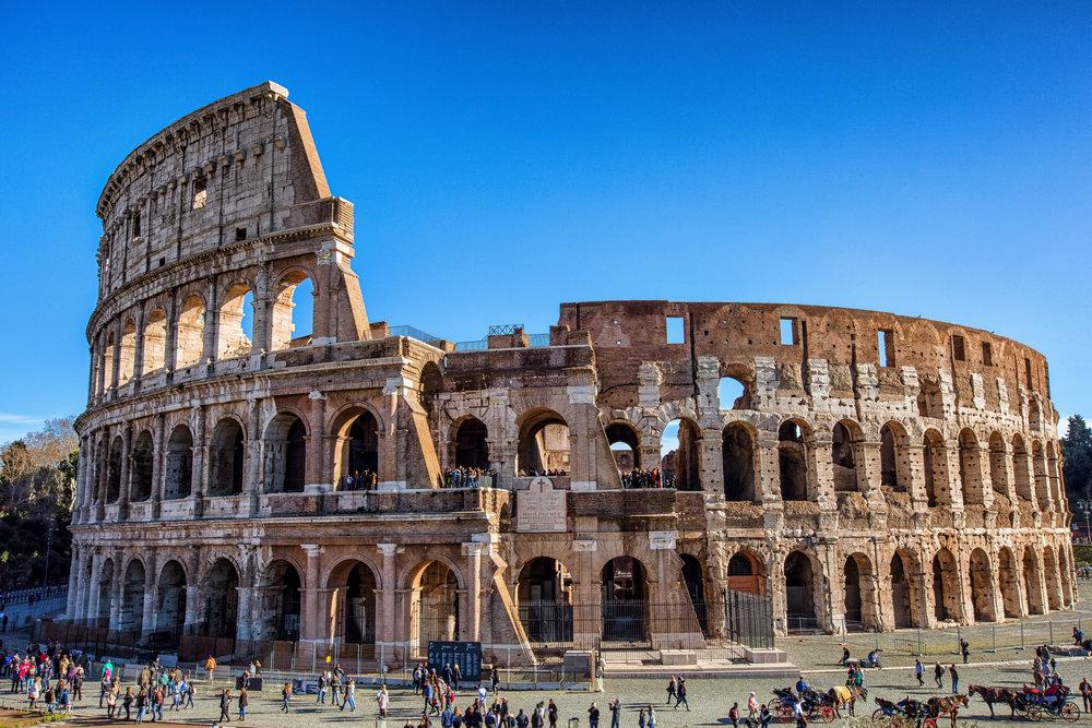 Pesona Colosseum di Roma yang Selalu Membuat Takjub